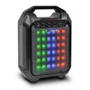 IDANCE Καραοκε sound system Blaster 10, Bluetooth/Line in/SD/USB LED, μαυρο BLASTER10