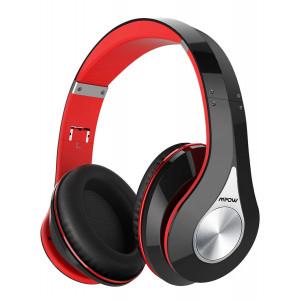 MPOW bluetooth headphones 059, 40mm, wireless & wired, μαύρο-κόκκινο BMBH059AB