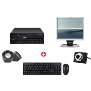 Bundle BNDL-0005 LENOVO PC με οθόνη, ποντίκι, πληκτρολόγιο, ηχεία, cam BNDL-0005