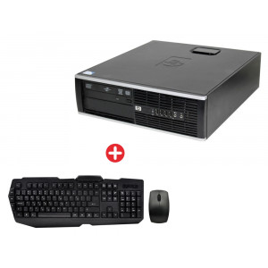 Bundle BNDL-0014 HP PC 8200 SFF Windows 10P & set ποντίκι/πληκτρολόγιο BNDL-0014