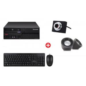Bundle BNDL-0028 LENOVO PC με ποντίκι, πληκτρολόγιο, ηχεία, cam BNDL-0028