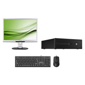 Bundle BNDL-0048 HP PC με οθόνη, ποντίκι, πληκτρολόγιο & Windows 10 BNDL-0048