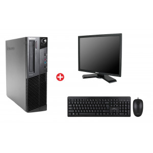 Bundle LENOVO PC M82 SFF, DELL οθόνη P190ST, POWERTECH set PT-678 BNDL-0052