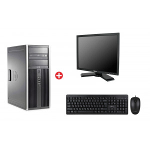 Bundle HP PC 8200 CMT, DELL οθόνη P190ST, POWERTECH set PT-678 BNDL-0059