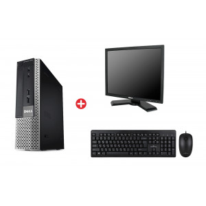 Bundle DELL PC 7010 USFF, DELL οθόνη P190ST, POWERTECH set PT-678 BNDL-0064