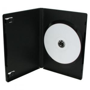 DVD Θήκη για 1 Disc 14 χιλιοστά, Μαύρο - 100ΤΕΜ BOX11-100