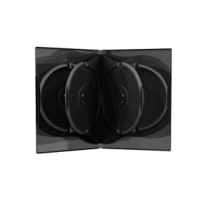 DVD Θήκη για 6 δίσκους, Μαύρο - 50TEM BOX16