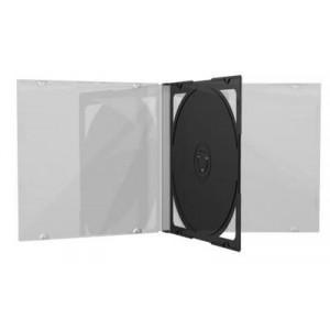 10.4 mm CD jewelcase με CLEAR 2 disc - 100TEM BOX23