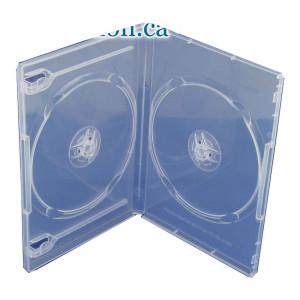 DVD Θηκη για 2 δισκους 14 χιλιοστων, Clear - 50ΤΕΜ BOX26