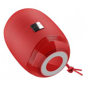 BOROFONE φορητό ηχείο BR6, Bluetooth/3.5mm/USB/SD Card, κόκκινο BRF-BR6-RD