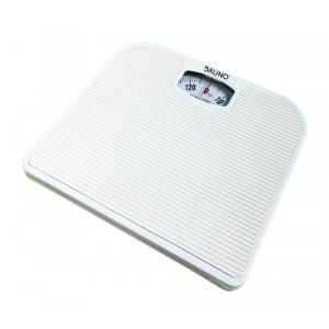 BRUNO Ζυγαριά μπάνιου μηχανική BRN-0009, 130kg max, λευκή BRN-0009