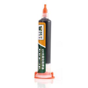 BEST PCB Repairing UV Solder mask ink BST-UVH900, 10cc, μαύρο BST-UVH900-BK