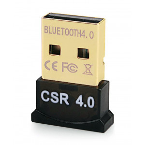 Bluetooth V4.0 & EDR USB Δεκτης, Plug & Play, 20m εμβελεια max BT-004