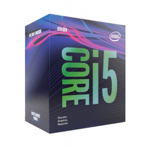 INTEL CPU Core i5-9400F, Six Core, 2.9GHz, 9MB Cache, LGA1151 BX80684I59400F