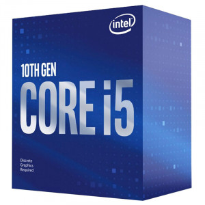 INTEL CPU Core i5-10400F, Six Core, 2.9GHz, 12MB Cache, LGA1200 BX8070110400F