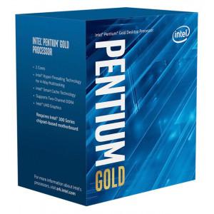 INTEL CPU Pentium Gold G6400, Dual Core, 4GHz, 4MB Cache, LGA1200 BX80701G6400
