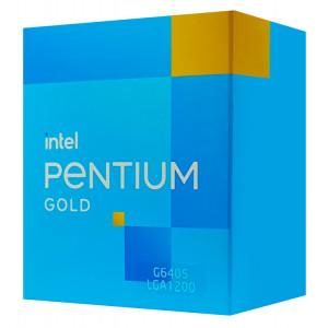 INTEL CPU Pentium Gold G6405, 2 Cores, 4.10GHz, 4MB Cache, LGA1200 BX80701G6405