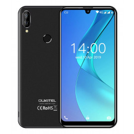 OUKITEL Smartphone C16 Pro, 5.71, 3/32GB, Quadcore, 2600mAh, μαύρο C16PRO-BK