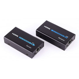 POWERTECH HDMI Video Extender CAB-H115, UTP cat5/6e έως 60m, Full HD, 3D CAB-H115
