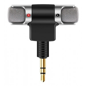 POWERTECH mini μικρόφωνο CAB-J041, stereo, 3.5mm CAB-J041
