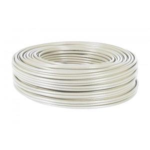 POWERTECH καλώδιο UTP Cat 5e, copper 26AWG, 0.5mm patch cord, γκρι, 100m CAB-N113