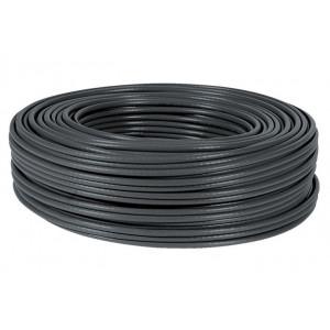 POWERTECH καλώδιο UTP Cat 5e, copper 26AWG, 0.5mm, outdoor, μαύρο, 305m CAB-N118