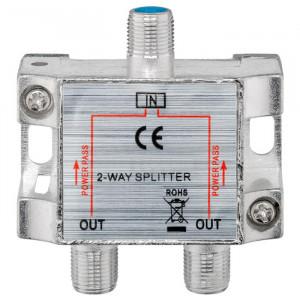 POWERTECH SAT-splitter CAB-V032, 2-way, 5-2400MHz, 100dB CAB-V032