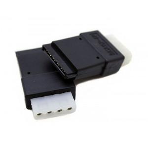 POWERTECH Ανταπτορας απο 4-Pin Molex σε SATA 15-Pin CAB-W014