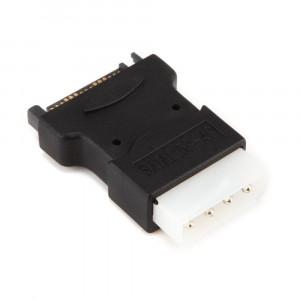 POWERTECH Ανταπτορας απο SATA 15-Pin (M) σε 4-Pin Molex CAB-W015