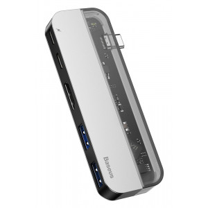 BASEUS USB Type-C HUB CAHUB-TD0G, 2x USB 3.0, Type-C, HDMI 4k CAHUB-TD0G