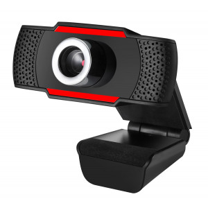Web κάμερα CAM06, USB, Full HD, μικρόφωνο, Plug & Play, μαύρη CAM06