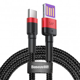 BASEUS καλώδιο USB σε USB Type-C CATKLF-P91, 5A 40W, double-sided, 1m CATKLF-P91