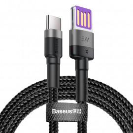 BASEUS καλώδιο USB σε USB Type-C CATKLF-PG1, 5A 40W, double-sided, 1m CATKLF-PG1