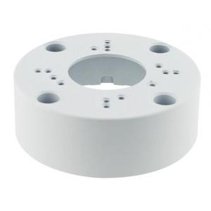 LONGSE Μεταλλική βάση στήριξης καμερών Dome και Bullet CCTV-B001, λευκή CCTV-B001