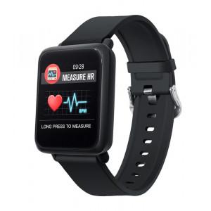 COLMI Smartwatch M28 CLM-M28, έγχρωμη οθόνη, με παλμογράφο, μαύρο CLM-M28