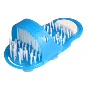 EASY FEET Παντόφλα μασάζ, καθαρισμού & απολέπισης ποδιών CLN-0005, μπλε CLN-0005