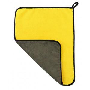 POWERTECH απορροφητική πετσέτα μικροϊνών CLN-0012, 30 x 60cm, κίτρινη CLN-0012