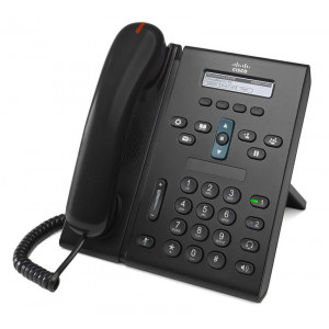 CISCO used Unified IP Phone 6921, PoE, μαύρο CP-6921-CL-K9