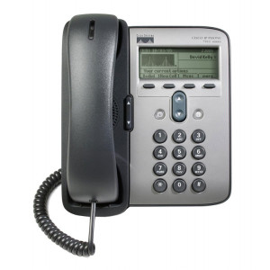 CISCO used IP Phone 7911G, POE, Dark Gray CP-7911G
