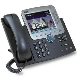 Cisco USED IP Phone 7970G, Dark Gray CP-7970G