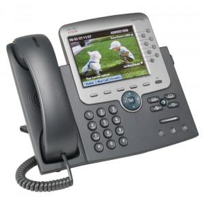 CISCO used Unified IP Phone 7975G, PoE, Dark Gray CP-7975G