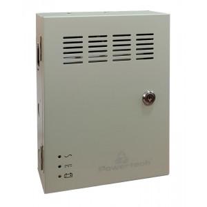 POWERTECH τροφοδοτικό CP1209-10A-B για CCTV-Alarm, DC12V 10A, 9 κανάλια CP1209-10A-B