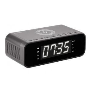 THOMSON Ξυπνητήρι CR255I, FM, ασύρματη φόρτιση, dual alarm, μαύρο CR225I