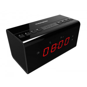THOMSON Ξυπνητηρι CR50 με ραδιοφωνο, μαυρο CR50