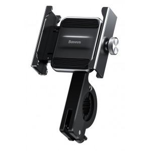 BASEUS βάση μηχανής για smartphone CRJBZ-01 Knight, μεταλλική, μαύρη CRJBZ-01