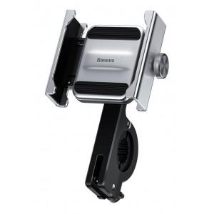 BASEUS βάση μηχανής για smartphone CRJBZ-0S Knight, μεταλλική, ασημί CRJBZ-0S