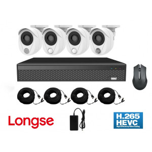 LONGSE Smart kit CS500, 5MP, 4 Cameras με 3 διαφορετικούς Sensors, Mouse CS500
