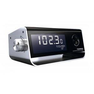 THOMSON Ξυπνητήρι CP350 με ημερολόγιο, θερμοκρασία, FM Radio, μαύρο CT350