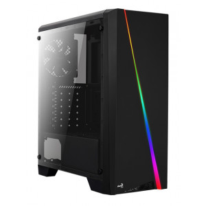 AEROCOOL PC case mid tower CYLON, 198x459x413mm, 1x fan CYLON