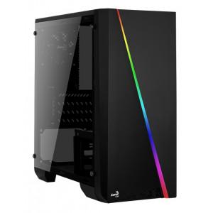 AEROCOOL PC case mini tower CYLON-MINI, 186x381.5x373mm, 1x fan CYLON-MINI